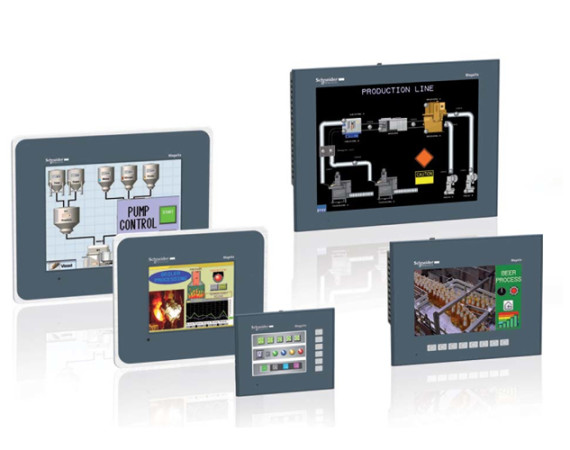 Schneider Electric Magelis HMI Terminals & Vijeo Design Software